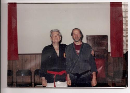 Sensei Ron Zieth and Shihan Foster