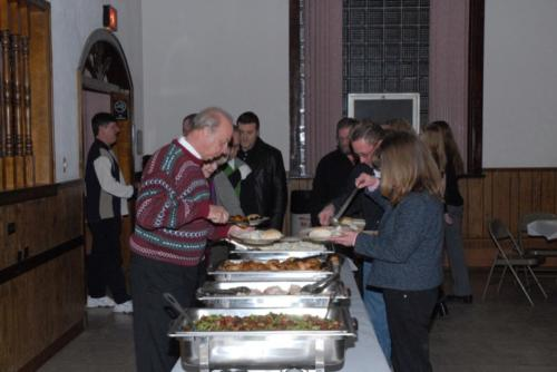 2007 winter dinner